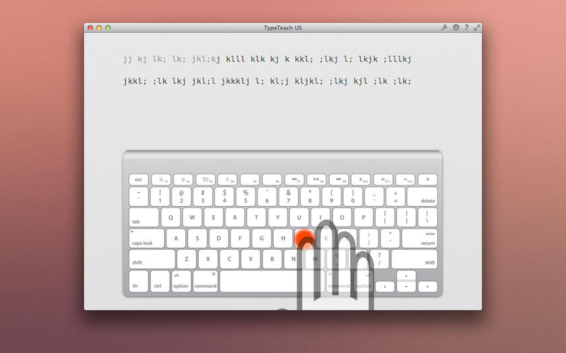 TypeTeach US - Learn how to touch type in now time