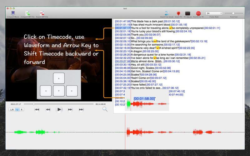 SRT Edit Pro-Make and Edit
