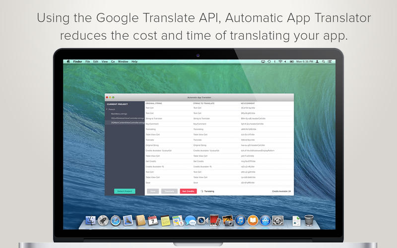 Automatic App Translator