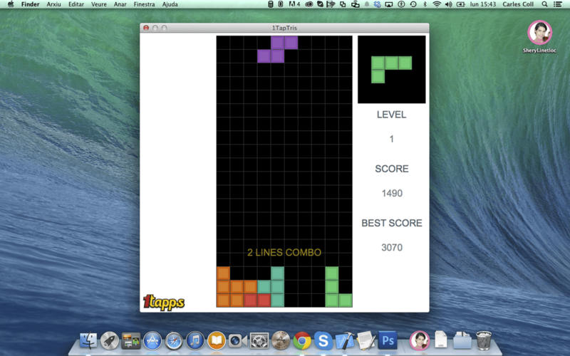 1TapTris - Falling Blocks Classic Puzzle Game by 1Tapps