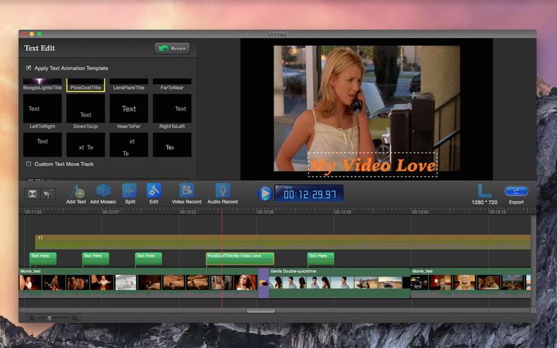 Video Editor Redux - Mosaic Cut Lite