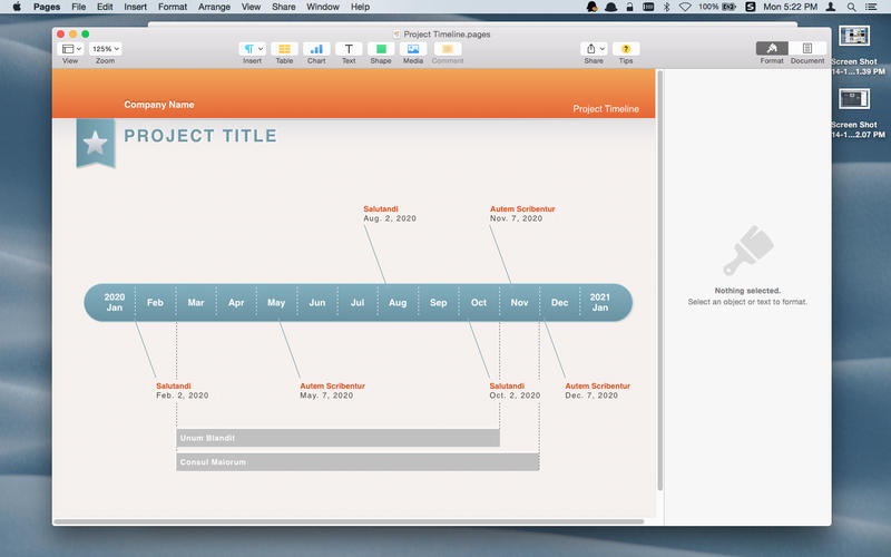Templates for iWork-Pages