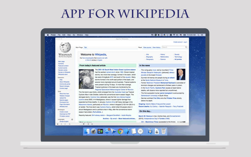 QuickSearch for Wikipedia