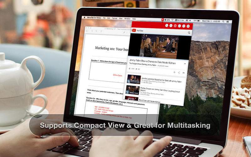 MenuTube for YouTube - Play YouTube Videos & Music from Your Menu Bar