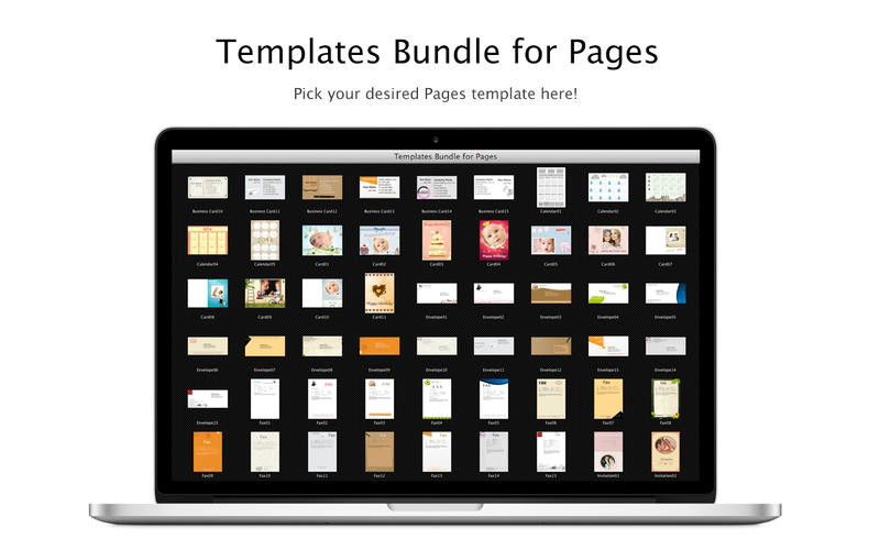 Templates Bundle for Pages