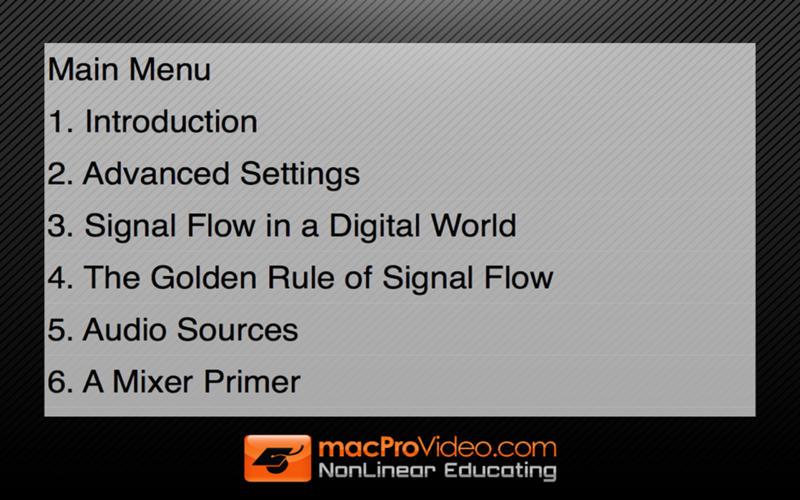 Signal Flow for Logic Pro X