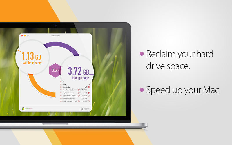Disk Cleaner - Free Your Hard Drive Space, Clean Cache, Tune Your Mac