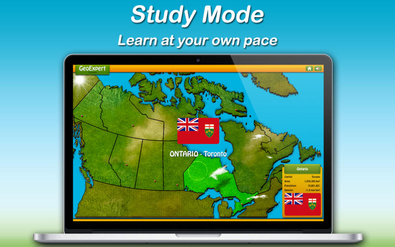 GeoExpert - Geography of Canada (Provinces and Territories)