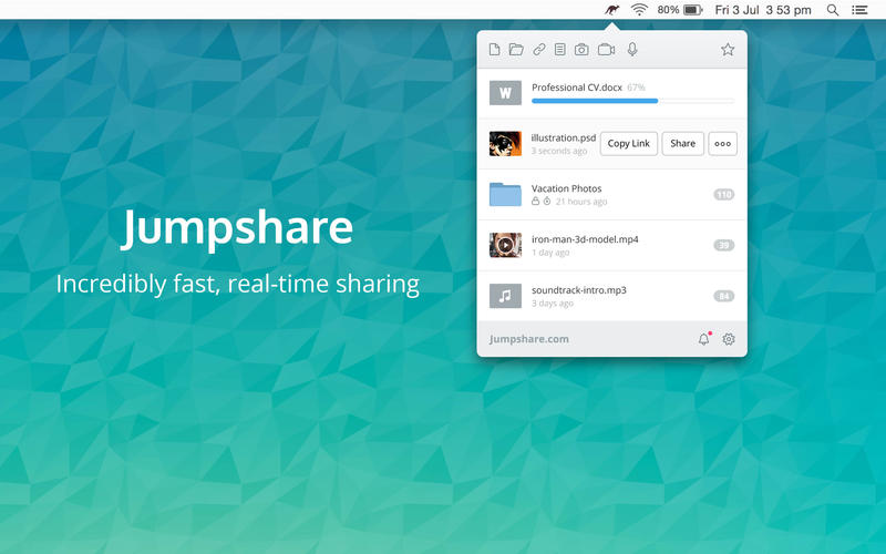 Jumpshare - Fast File Sharing, Screenshot Capture, Annotation, Screen & Voice Recorder