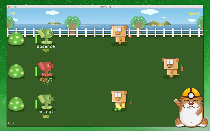 Typing & Reciting Games - learn and practice how to type, and recite words