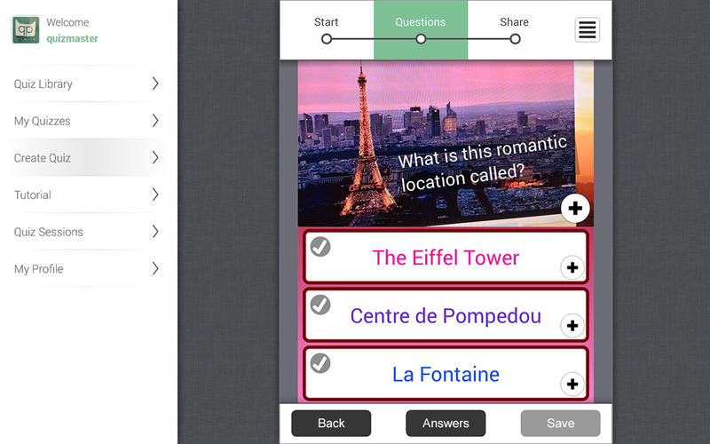 QuizPedia Quiz Creator - Take, Share and Publish Quizzes