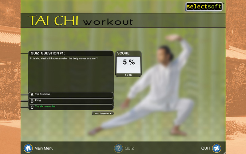 Tai Chi Workout - Martial Arts Exercises For Health, Fitness and Relaxation At Home