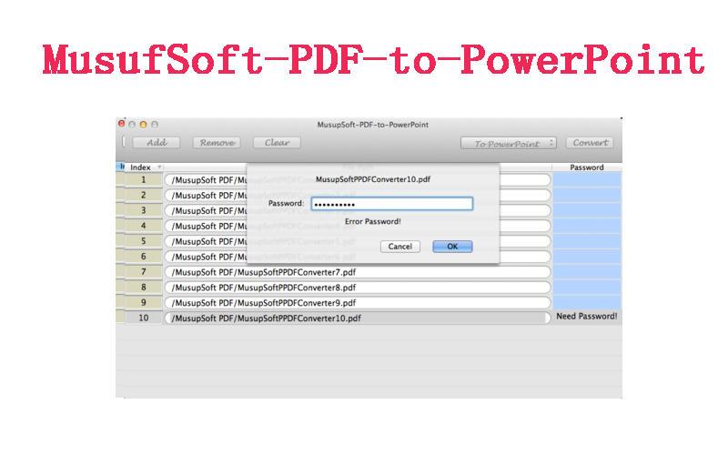MusupSoft-PDF-to-PowerPoint