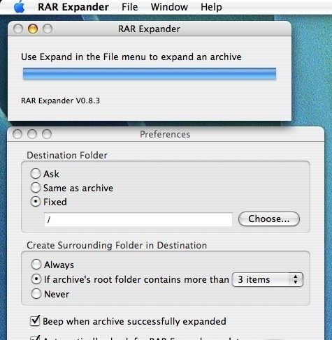 RAR-Expander 2.0.0