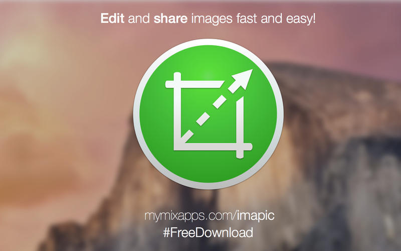 ImaPic - edit and share images fast and easy!