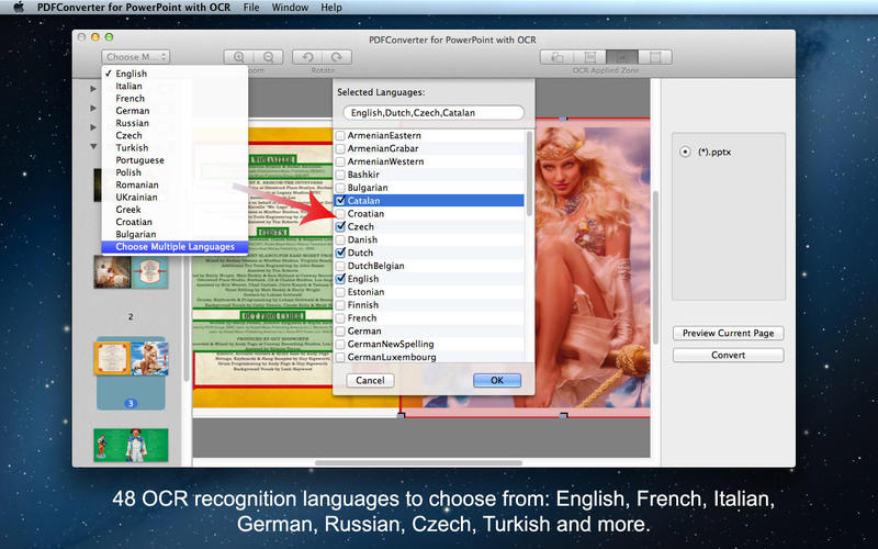 PDFConverter for PowerPoint with OCR