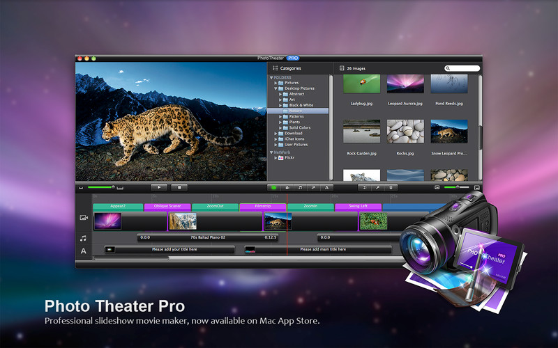 Photo Theater Lite Slideshow Movie Maker Download App Mac Lisisoft