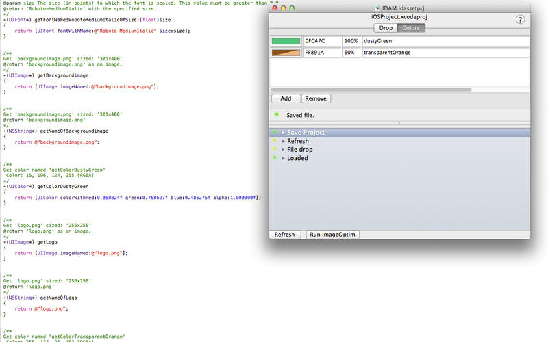 IDAssetManager Lite for Xcode