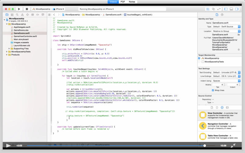 Tutorial for Sprite Kit - using Xcode 6.3 and Swift