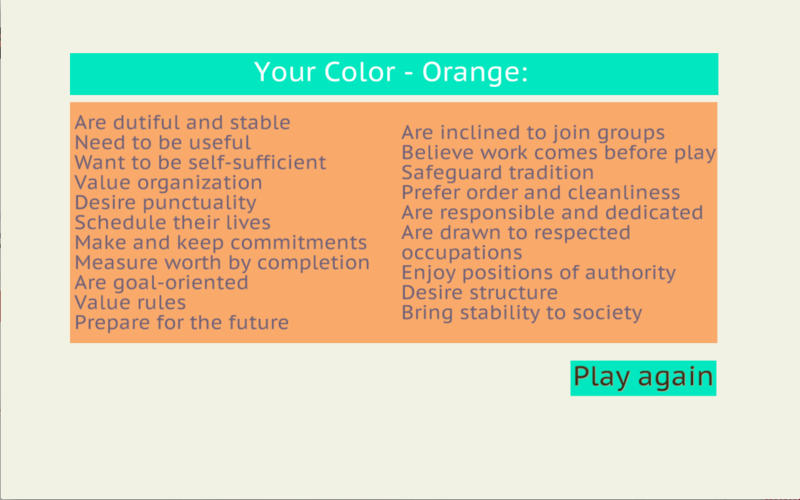 PsychoColor Personality Test Pro