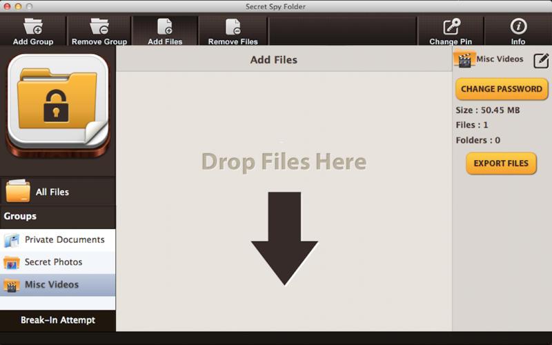 Secret Spy Folder - Hide and Protect Personal Sensitive Files