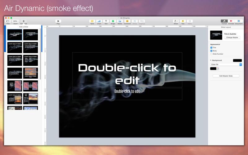 A Plus Keynote templates volume 0