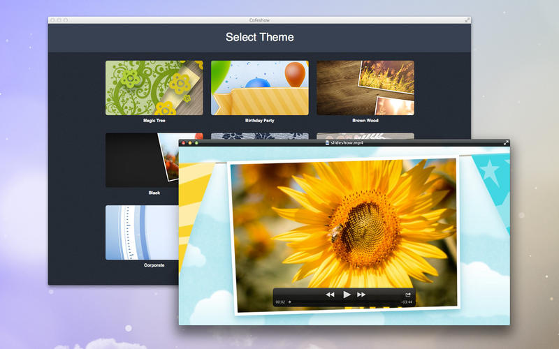 Video slideshow maker - Cofeshow
