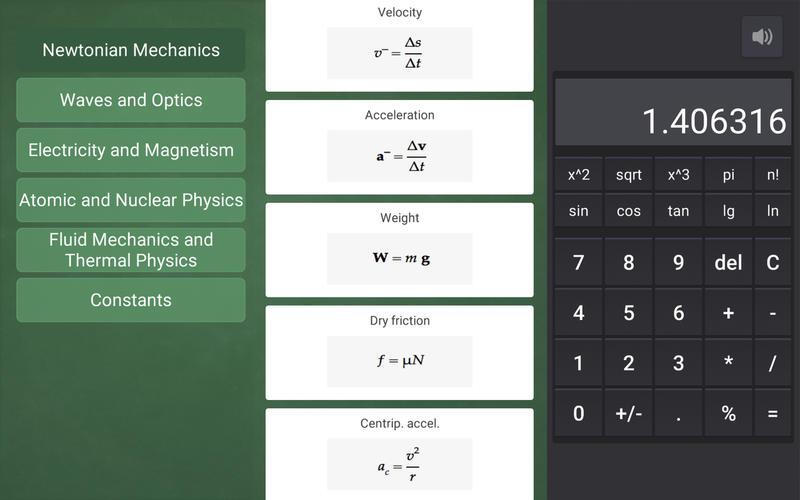 Physics Equations On Blackboard Prof