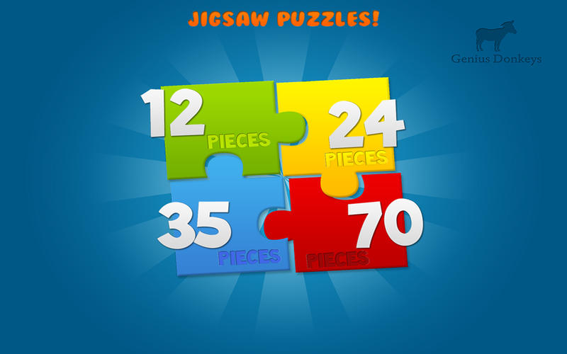 Puzzles for kids - Animal Puzzles