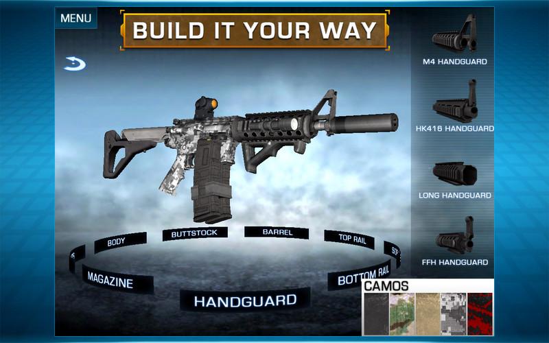 building gun games