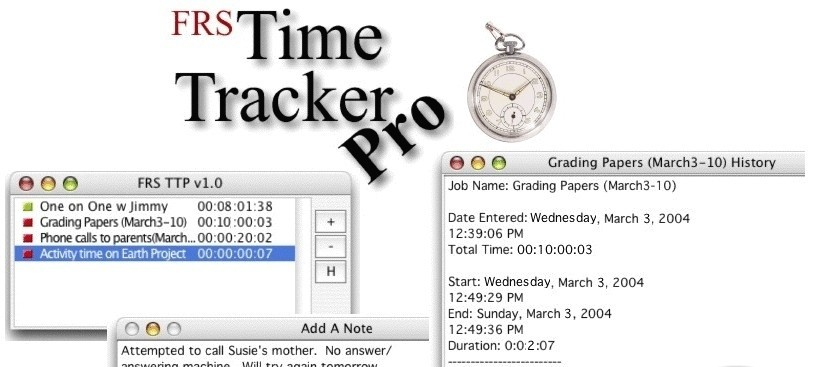 FRS Time Tracker Pro 1.9.2
