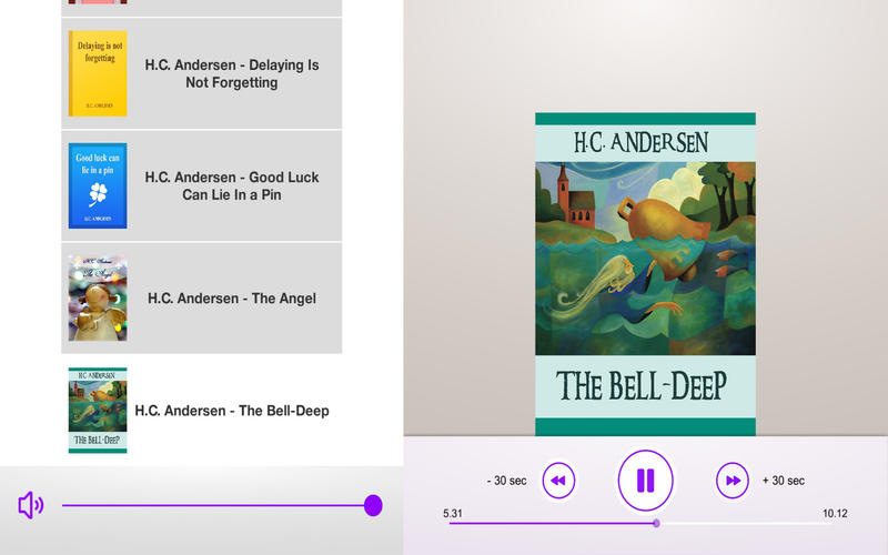 Andersen`s Magic World - Audiobooks Collection