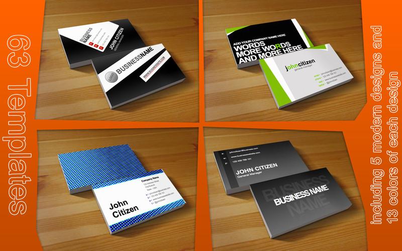 MeDesign Business Card Templates Download App Mac : LisiSoft