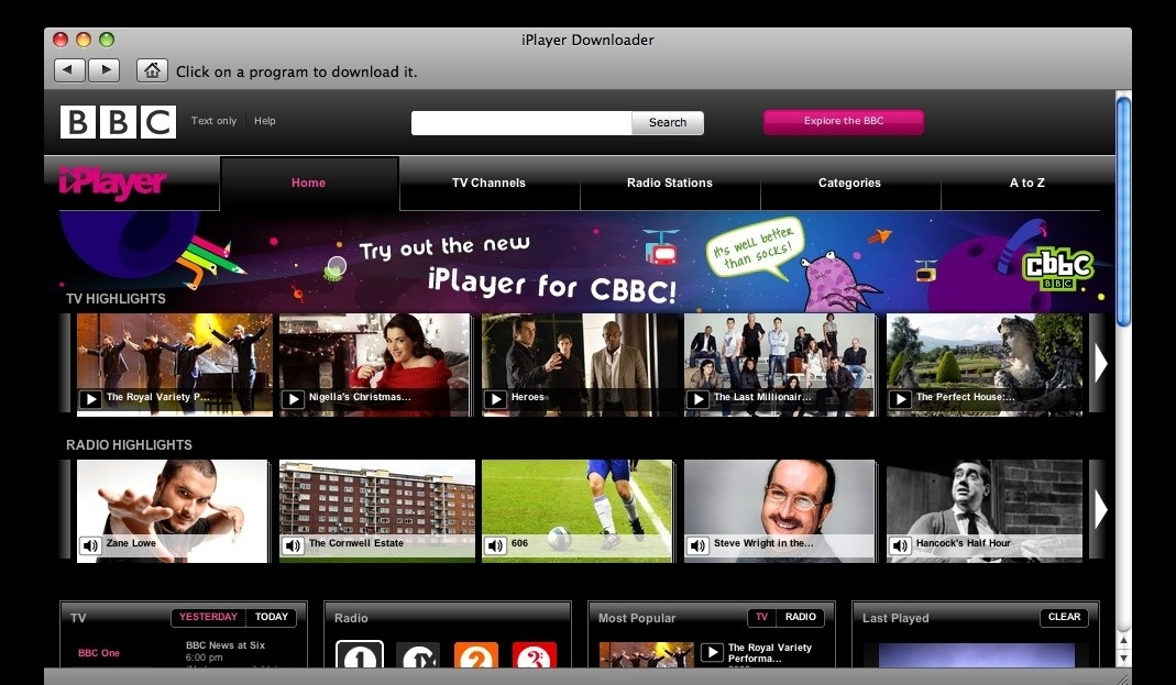 iPlayer Downloader 4.2