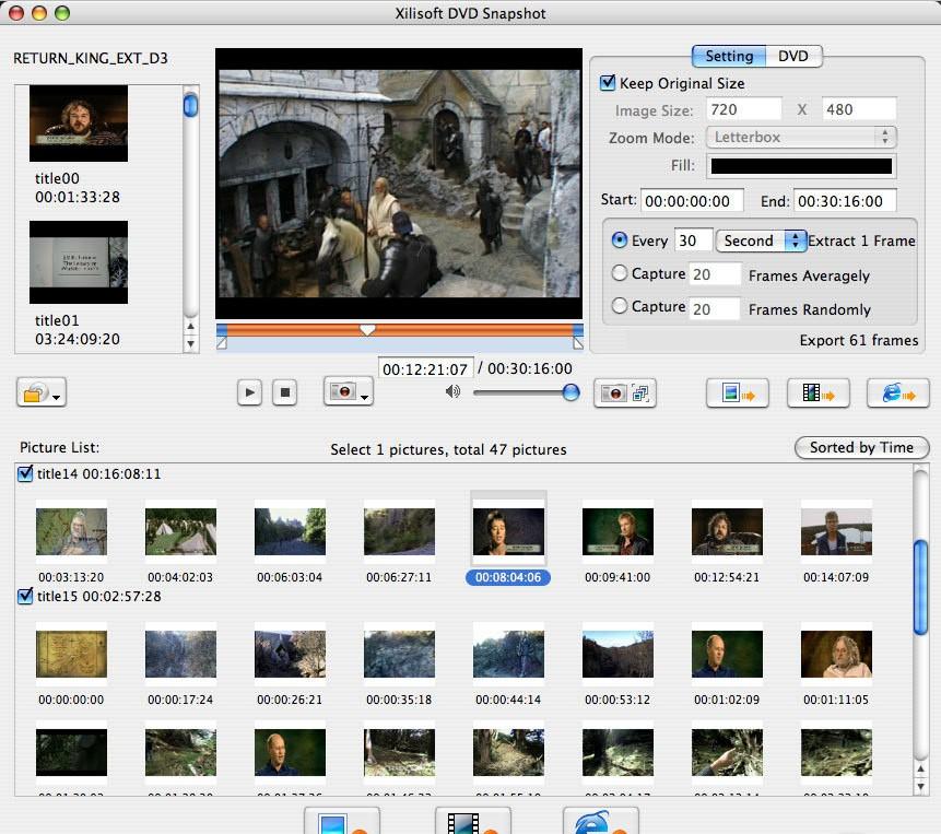 Xilisoft DVD Snapshot 1.0.34.0424
