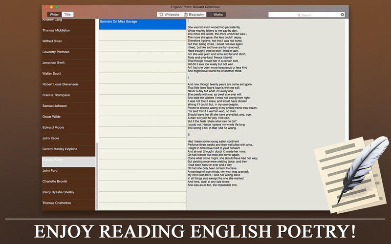 English Poets - Brilliant Collection Prof
