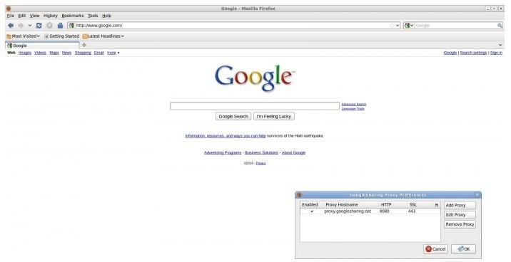 GoogleSharing 0.20