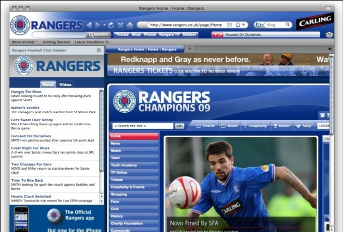Rangers Football Club Boom 2.0.1