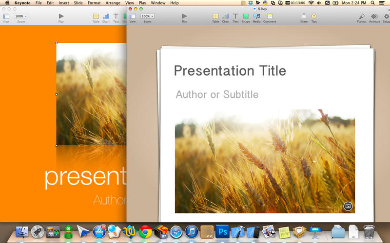 Templates for Keynote Presentations