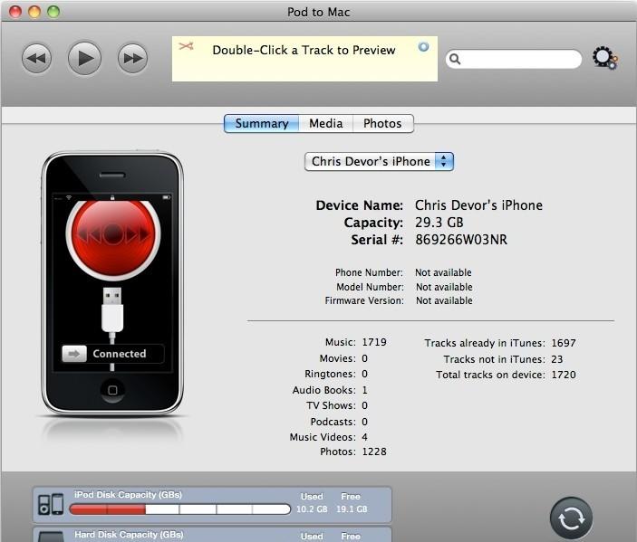 Pod to Mac 4.2.0.8