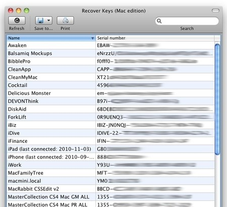 Mac Product Key Finder 1.0