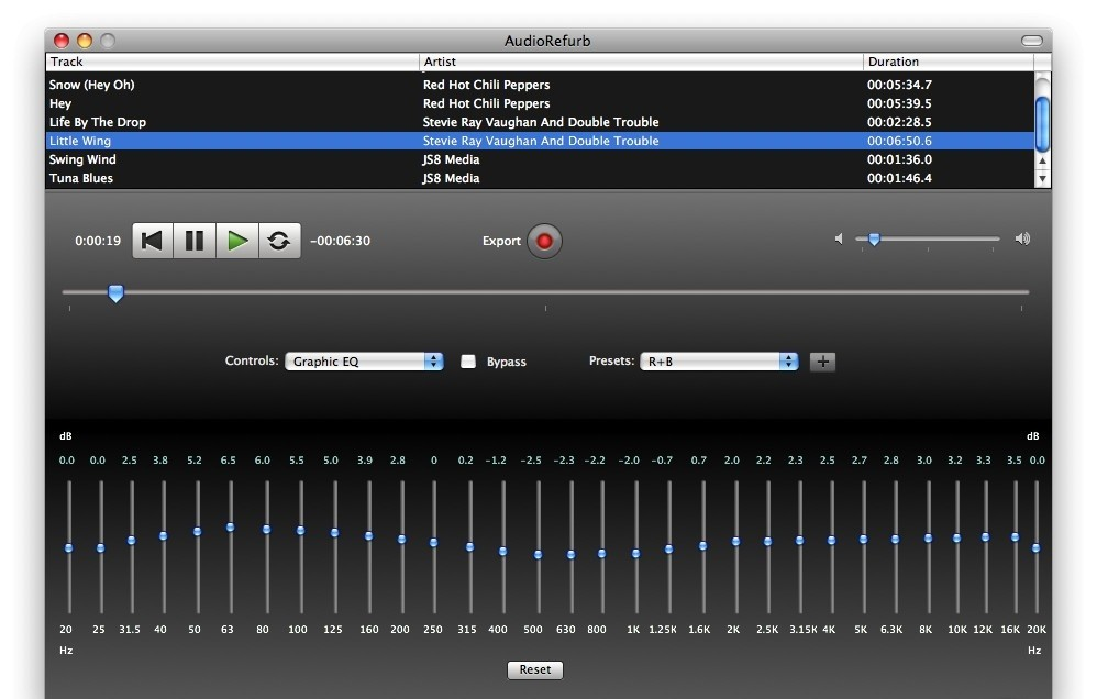 AudioRefurb 3.4
