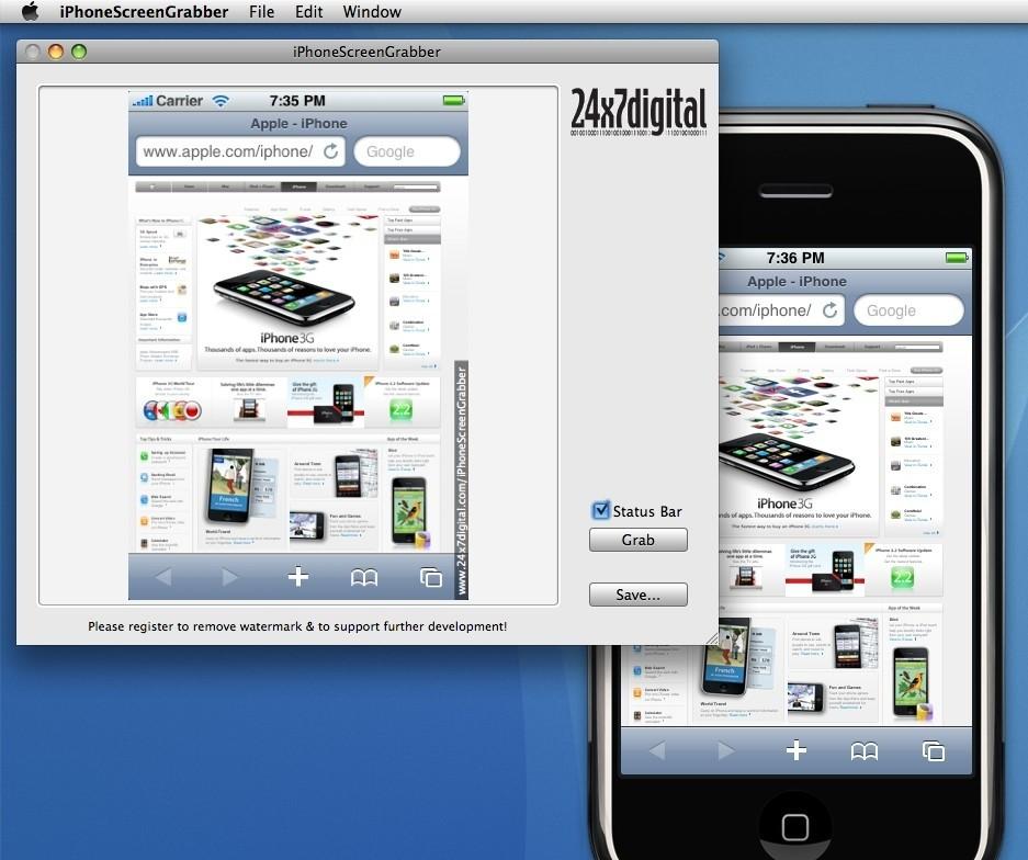 iPhoneScreenGrabber 2.2