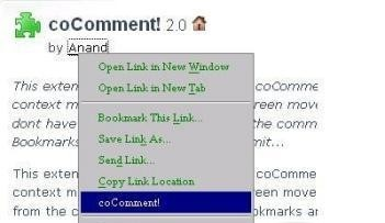 coComment! 2.0
