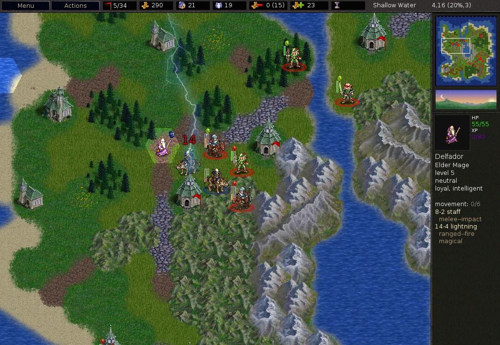 Battle For Wesnoth 1.9.7
