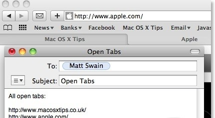Mail Open Tabs 1.0