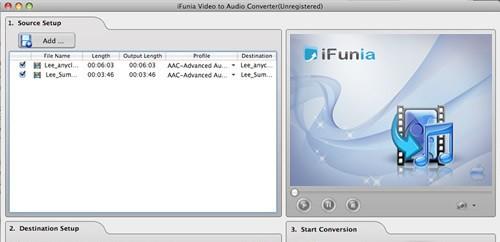 iFunia Video to Audio Converter 3.0.0