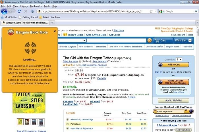 Bargain Book Mole 0.2