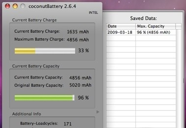 coconutBattery 2.7