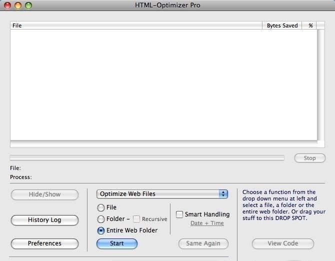 HTML-Optimizer Pro 5.10.4